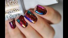 new year nails tutorial gel polish with nail art