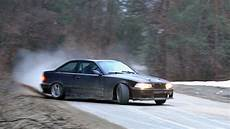 bmw e36 325i morning delivery drift 2