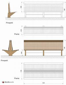 panchina dwg panchine in legno wooden benches drawings