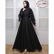 Konsep Populer 49 Baju Muslim Wanita Hitam Polos
