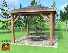 plan de pergola en bois gratuit pergolas en bois stmb construction chalets bois