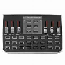 Modes Studio Audio Mixer Microphone Webcast f8 4 modes studio audio mixer microphone webcast