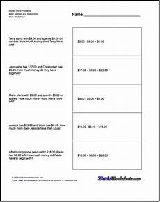money math worksheets word problems 2388 addition worksheet and subtraction worksheet money word problems worksheet addition and su
