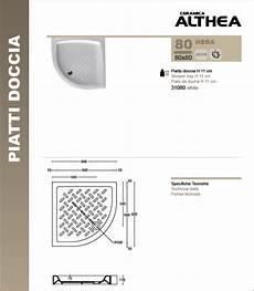 piatto doccia 75x75 piatto doccia semicircolare ceramica 80x80 althea ceramica
