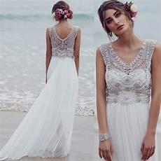Brautkleider Im Boho Stil Der Hei 223 Este Trend F 252 R Ihre