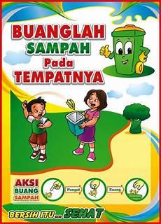 Himpunan Poster Kebersihan Lingkungan Yang Terhebat Dan