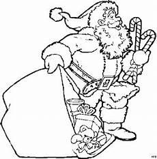 malvorlagen weihnachtsmann gratis weihnachtsmann mit suessigkeiten ausmalbild malvorlage
