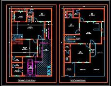plans for duplex houses duplex house plans free download dwg 35 x60 autocad