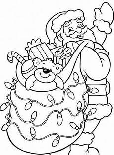 santa claus coloring pages coloring page base
