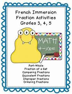 grade 5 immersion grammar worksheets 25143 immersion fraction worksheets grade 3 4 5 customizable by irene priest