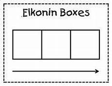 free printable elkonin sound box template classroom ideas kindergarten reading teaching