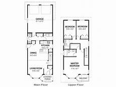 house plans for narrow lots on lake narrow home floor plans single story narrow lot house