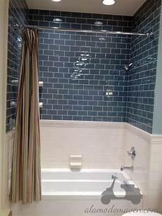 glacier glass subway tile bathroom subway tile showers