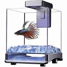 aqua culture betta cube with led light walmart com