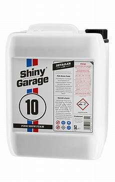 shiny garage pink snow foam 5l mycie shiny garage
