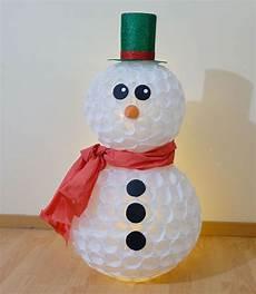 come fare un pupazzo di neve con bicchieri di plastica pupazzo di neve con bicchieri di plastica tutorial