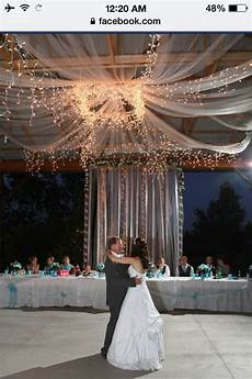 wedding decor for a shelter house faux chandelier made
