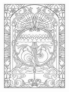 Jugendstil Malvorlagen Pdf Nouveau Coloring Book And Coloring Pages