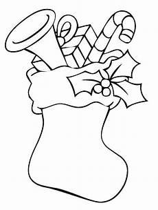 kostenlose malvorlage weihnachten gef 252 llter strumpf mit