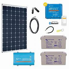 kit solaire 300w premium autonome convertisseur 230v 800va