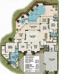 lanai house plans covered lanai down and balconies up 31820dn