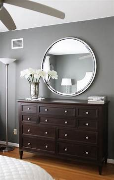 gray walls dark brown furniture bedroom paint color amherst grey benjamin my