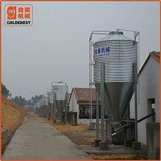 china assembled galvanized poultry homemade chicken pig house feed silo manufacturers and