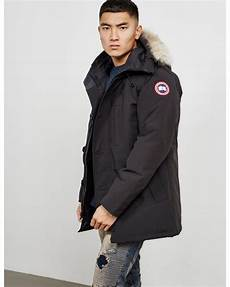 lyst canada goose mens chateau padded parka jacket black