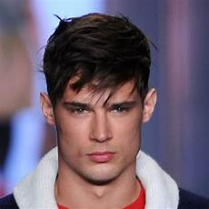 pictures of men s haircuts with short sides and a long top