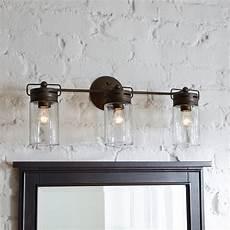 mason jar vanity light