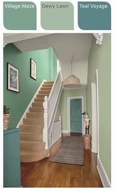 dulux green hallway inspiration village maze dewy lawn teal voyage hallway colours