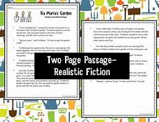 2nd grade reading comprehension passage and multiple choice test
