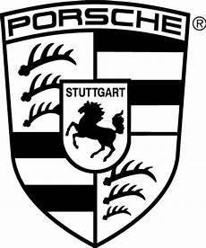 porsche logo free vector in adobe illustrator ai ai