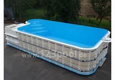 pool zum einbauen luxor der integrierte pp komplett pool als 220 berlaufbecken 123pool the home of pools