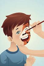 Image result for face painting clipart