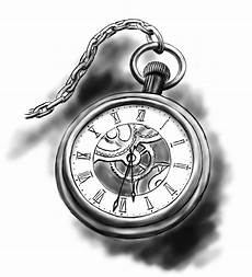 taschenuhr skizze pocket this represents thy think it is time for dave