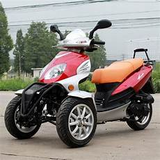 new yd 49cc trike bike gas moped scooter 3 wheels with