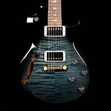prs s2 singlecut semi hollow faded blue smokeburst the