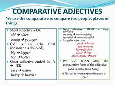 comparative and superlative adjectives grammar online presentation