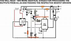 driving three phase motor single phase supply circuit diagram circuit diagram centre