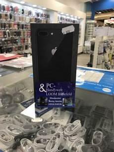 Iphone 8 Plus 64gb In Schwartz Pc Handywelt Loom Bielefeld