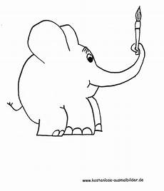 elefanten bilder zum ausmalen malvorlagen gratis