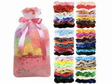 50 pcs velvet hair scrunchies just 6 99 the coupon