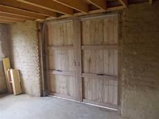 Porte De Grange Chevilles Et Copeaux