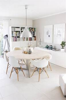 fresh white dining rooms design