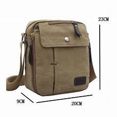 jual promo tas pria selempang army moderen import kanvas militer messenger shoulder bag di