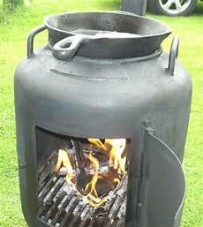 gasflasche ofen bauen terrassenofen aus bauchiger gasflasche grillforum und