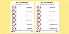 german phonics worksheets 19703 telling the time in german worksheet activity sheet worksheet
