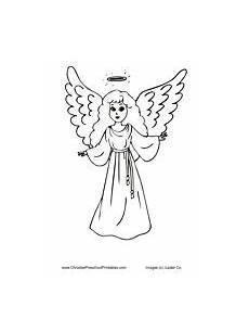 Kostenlose Malvorlagen Engel Ausmalbild Engel Kostenlose Malvorlage Singender Engel