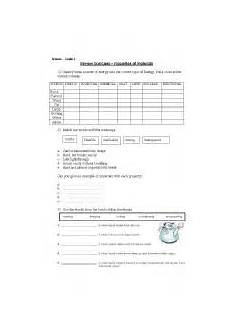 science worksheets materials 12296 worksheets science grade 4 properties of materials